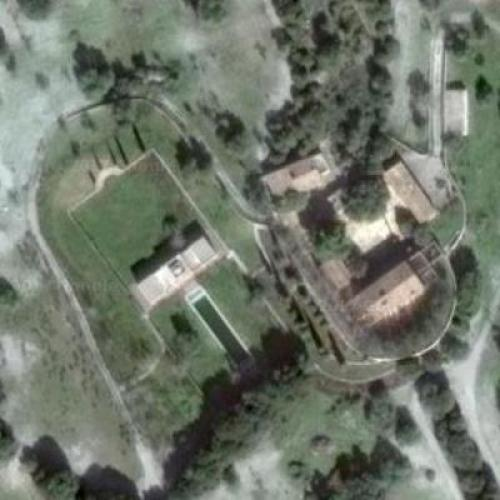 Boris Becker's finca (Former) in Artá, Spain (Google Maps)