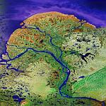 Yukon River Delta (Google Maps)
