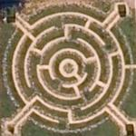 Maze in Metz (Google Maps)