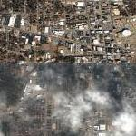 Partially cloudy over Dothan Alabama (Google Maps)