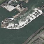 Willamette Falls (Google Maps)