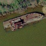 Shipwreck (Google Maps)