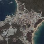 Chinese secret nuclear submarine base (Google Maps)