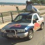 Red Bull SUV