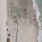 Beach Replenishment (Google Maps)