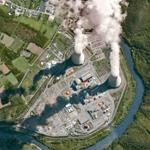Chooz nuclear power plant (Google Maps)