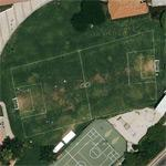 A not conformed soccer-field (Google Maps)