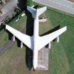 "Boeing 707-430 ""Airport One"" on static display (Google Maps)"
