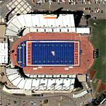 Bronco Stadium (Google Maps)