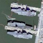 Aircraft Carriers (Google Maps)
