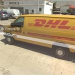 DHL truck (StreetView)