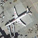 "Boeing 757 ""Born to fly"" (Google Maps)"