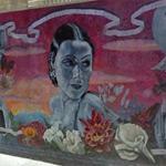 Dolores Del Rio mural