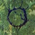 Lake Manicouagan Reservoir (Google Maps)