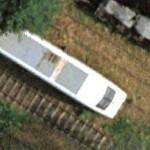 The ICE power head 401 551 (Eschede train disaster) (Google Maps)
