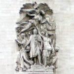 """Le Triomphe de 1810"" by Jean-Pierre Cortot"
