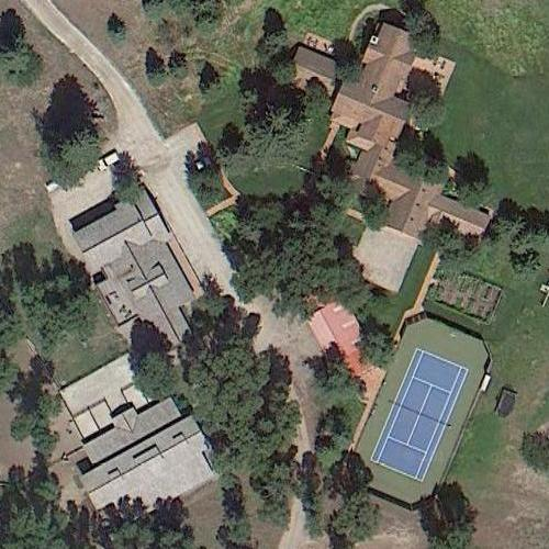 Harrison Ford S House In Jackson Wy Google Maps 3
