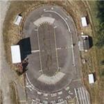 Model race car track