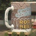 Giant mug of root beer