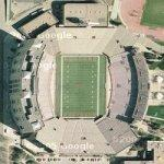 Memorial Stadium at University of Nebraska (Google Maps)