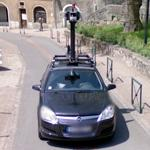 The GoogleCar taken by another GoogleCar (StreetView)