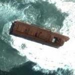 Rusting ship hulk 2