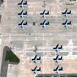 C-5's at Travis Air Force Base (Google Maps)