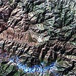 Tora Bora Mountain Range (Google Maps)