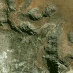 Tsodilo Hills of Botswana (Google Maps)