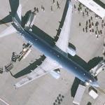 Boeing 737 (Telefonica O2 logojet)