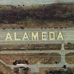 Remains of Naval Air Station Alameda