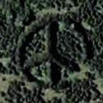 Peace Sign (Google Maps)
