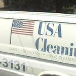 USA cleaning van