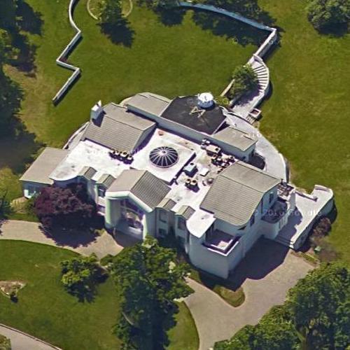 Home Pics: Wesley Snipes' House (former) In Alpine, NJ (Google Maps) (#2