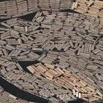 Floating logs (Google Maps)