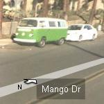 Cool Green bug (StreetView)