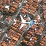 Airplane over São Paulo 2