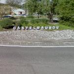 Castelmaurou greeting at roundabout
