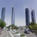 Cuatro Torres Business Area (StreetView)