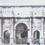 Arch of Constantine (StreetView)