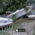 Abandoned boats (StreetView)