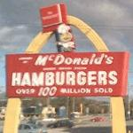 Vintage Speedee McDonalds Sign