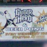 Guitar Hero & Beer Pong