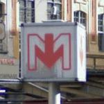 Lille Metro Sign