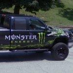 Monster Energy truck (StreetView)