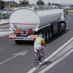 Bicycle rider (StreetView)