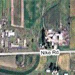 MS-70C Nike missile site (Google Maps)