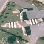 """Airspeed Horsa"" - World War II military glider (Google Maps)"