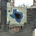 Small Texas shaped pool (Google Maps)