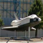 Space Shuttle Mock-up at NASA Ames (StreetView)